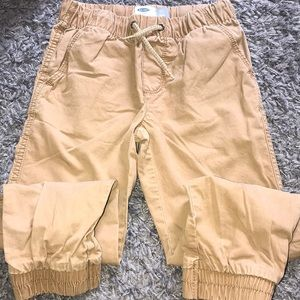 Boys camel brown joggers